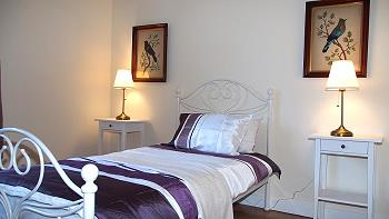 Les chambres aménagées avec du style.